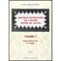 ARMORIAL ET NOBILIAIRE DE L'ANCIEN DUCHÉ DE SAVOIE - volume 1
