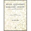 RECUEIL DE LA BOURGEOISIE ANCIENNE, 2e série