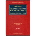 HISTOIRE GÉNÉALOGIQUE ET HÉRALDIQUE DES PAIRS DE FRANCE, DES GRANDS DIGNITAIRES DE LA COURONNE...