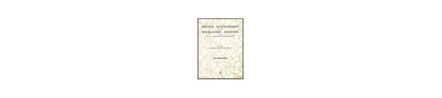 Téléchargement RECUEIL DE LA BOURGEOISIE ANCIENNE d'André Delavenne