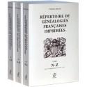 Répertoire de généalogies françaises imprimées du colonel E. Arnaud