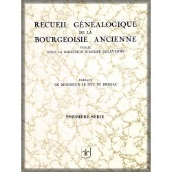 RECUEIL DE LA BOURGEOISIE ANCIENNE